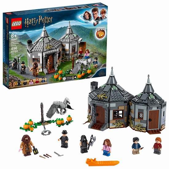 历史新低!LEGO 乐高 75947 海格小屋-营救巴克比克(496pcs) 63.97加元包邮!