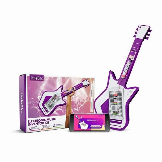 白菜速抢!LittleBits 电子积木 电子音乐套装1.5折 20加元清仓!
