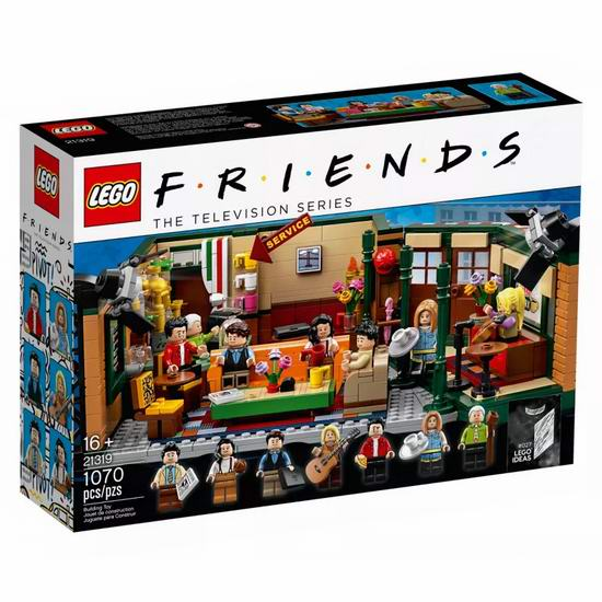 新品补货!Lego 乐高 21319 老友记 中央公园(1070pcs) 89.99加元包邮!