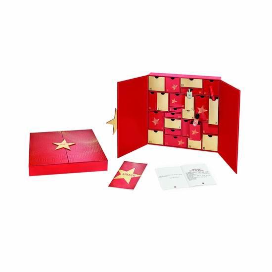 新品上市!Giorgio Armani 阿玛尼 圣诞倒数日历24件套超值装 350加元包邮!送3件套礼包!