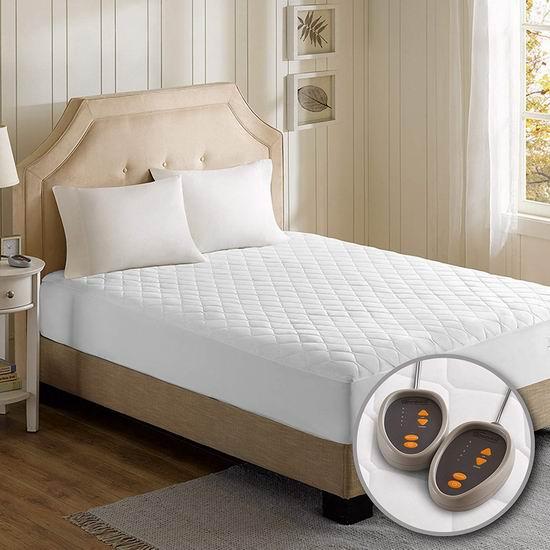历史新低!Beautyrest Cal King 双遥控 电热床垫保护罩/电热毯 107.99加元包邮!