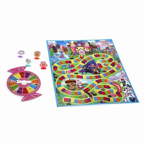历史新低!Candy Land 经典儿童糖果世界桌游5折 6.47加元!