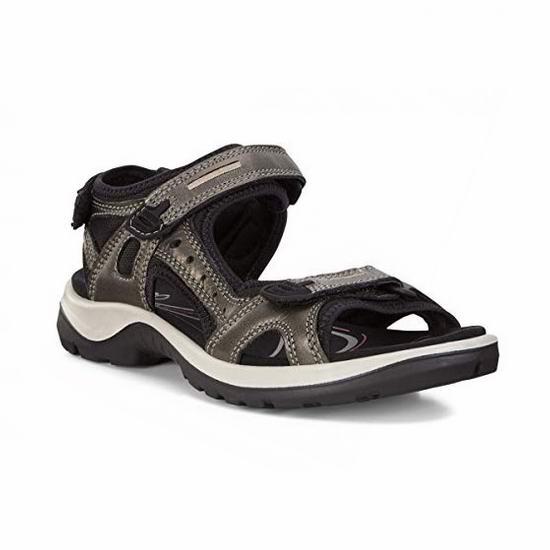 白菜速抢!ECCO Yucatan 超舒适 女式真皮凉鞋2.9折 49加元清仓并包邮!