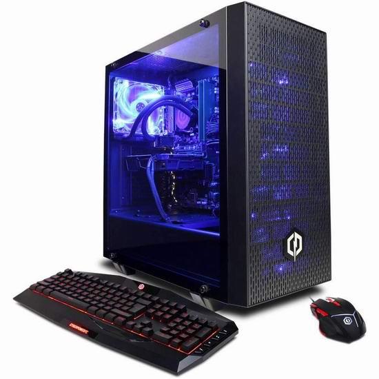 历史新低!CYBERPOWERPC Gamer Supreme 液冷 游戏台式机(i7-8700K, 16GB, NVIDIA GeForce GTX 1070 8GB, 120GB SSD+2TB) 1769.99加元包邮!
