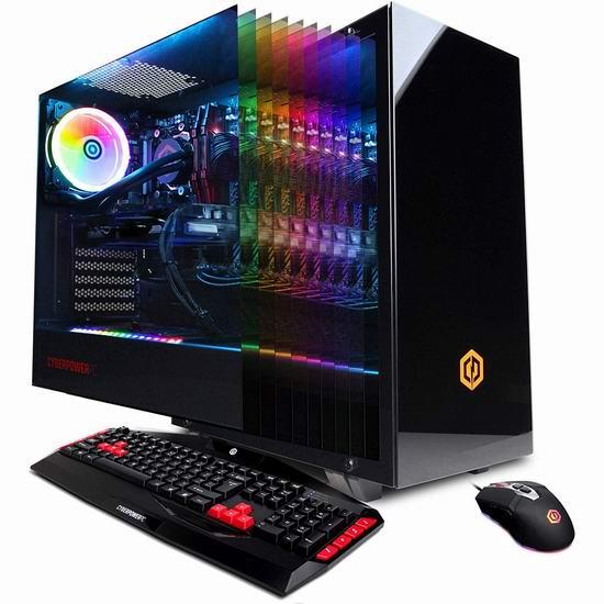 金盒头条:CYBERPOWERPC Gamer Master GMA1394A 游戏台式机(AMD Ryzen 7 2700, 16GB, NVIDIA GeForce GTX 1070 8GB, 240GB SSD, 2TB) 1549.99加元包邮!