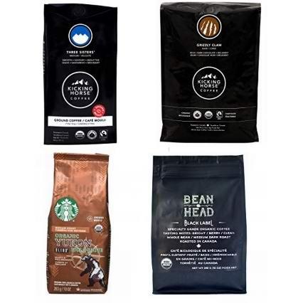 精选 Kicking Horse、BEAN HEAD、星巴克、Level Ground 等品牌咖啡豆、咖啡胶囊等5.3折起!