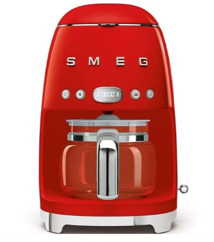 SMEG 10杯量 复古风过滤式咖啡机7.5折 224.99加元包邮!马卡龙4色可选!