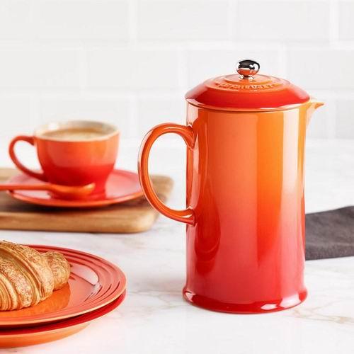 Le Creuset 法式咖啡压壶 7.5折 60加元(8色可选),the bay同款价 100加元,包邮