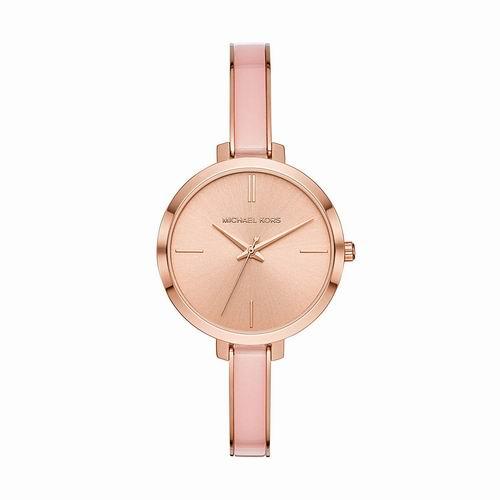 Michael Kors Jaryn玫瑰金时尚腕表 130加元,原价 260加元,包邮