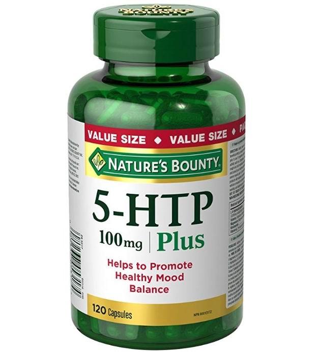 Nature's Bounty 5-HTP 5-羟基色氨酸 膳食补充剂 提高睡眠质量 120粒 17.38加元,原价 23.18加元