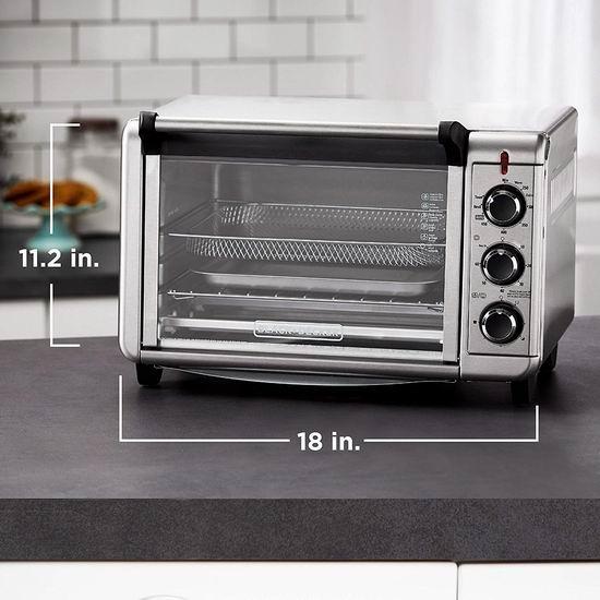 金盒头条:历史新低!Black+Decker TO3215SSD Crisp N Bake 空气炸锅烤箱4.8折 62.99加元包邮!