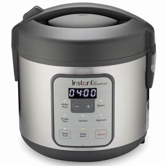 历史新低!新品 Instant Pot Zest 8杯量 智能电饭煲 39.99加元包邮!