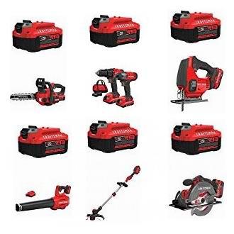 精选多款 Craftsman 家用电动工具、庭院电动工具+电池超值装6折起限量特卖!