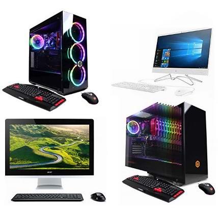 金盒头条:精选多款 HP、Dell、Acer、CyberpowerPC 台式机、游戏台式机、一体式台式机7.1折起!