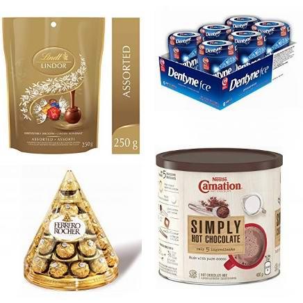金盒头条:精选多款 Ferrero、Lindt 等品牌巧克力糖果、口香糖等5.7折起!
