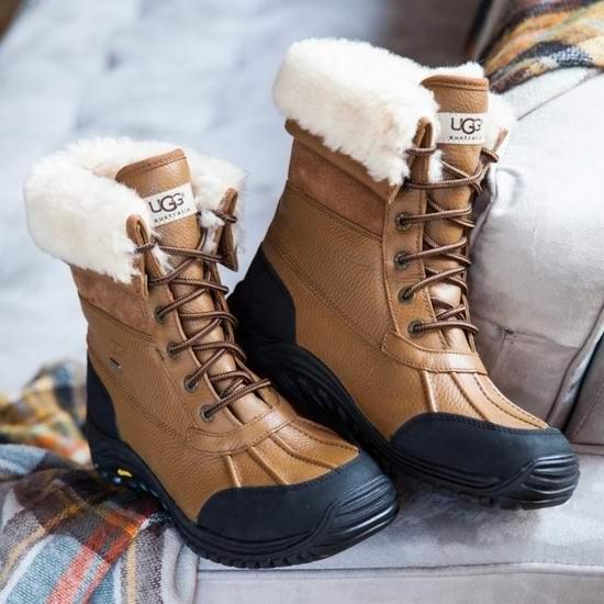 UGG W Adirondack III 严寒系列 女士真皮雪地靴(6码、6.5码) 250.75加元包邮!