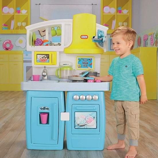 历史新低!Little Tikes 小泰克 Tasty Jr. Bake 二合一双模式成长型 儿童过家家厨房 89.97加元包邮!