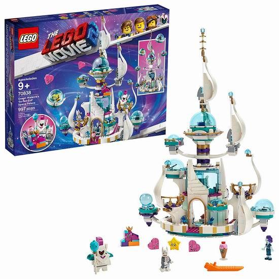 历史新低!LEGO 乐高大电影系列 70838 瓦特弗拉女王的太空宫殿(995pcs)5.7折 79.99加元包邮!
