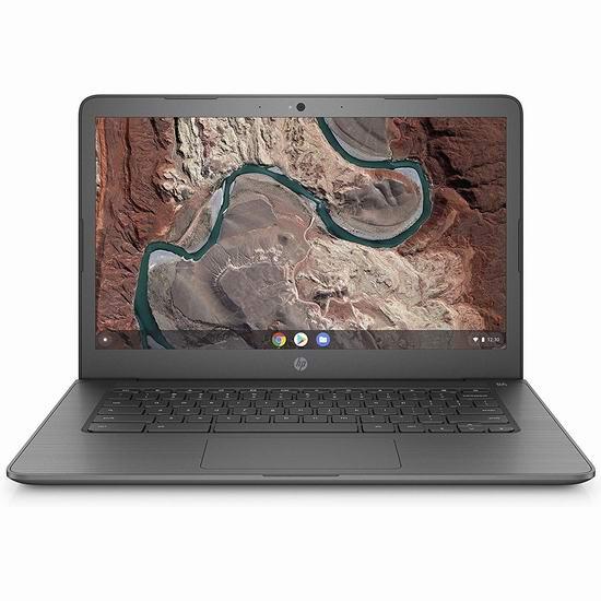 HP 惠普 14-db0002ca Chromebook 14英寸谷歌笔记本电脑(4GB, 64GB) 229.99加元包邮!