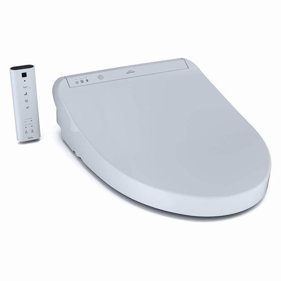 历史新低!TOTO SW3036#01 K300 无线遥控 豪华顶级智能马桶盖(长型)5折 874.29加元包邮!