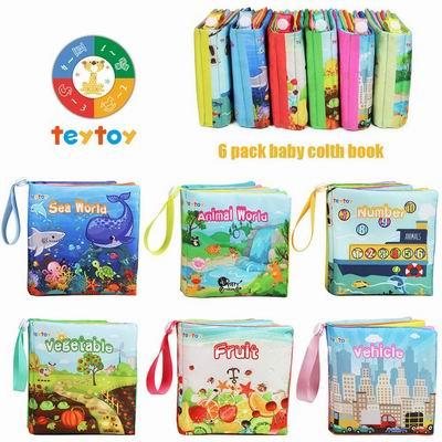 Baby's First Soft Books宝宝启蒙益智布书 3.7折 12.97加元起特卖!