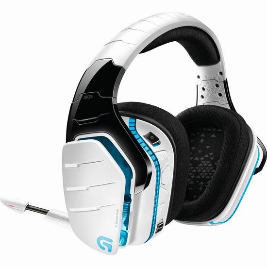 历史新低!Logitech 罗技 G933 Artemis Spectrum 无线7.1环绕游戏耳机3.9折 98.97加元包邮!