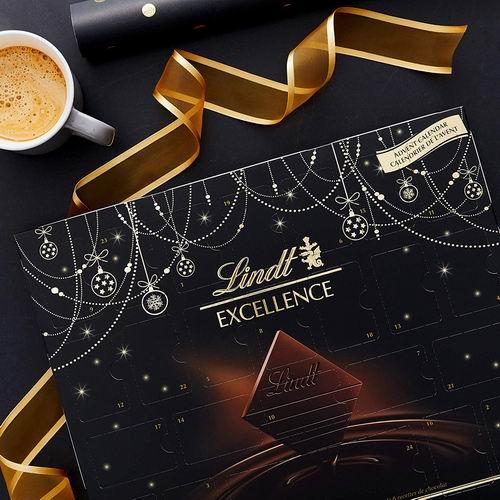 Lindt 瑞士莲 圣诞倒数日历巧克力 15.99加元,原价 19.99加元