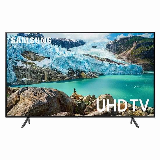 黑五专享:历史新低!Samsung 三星 RU7100 43/50/55/58/65/75英寸 4K超高清智能电视6.6折 399.99-1548加元包邮!