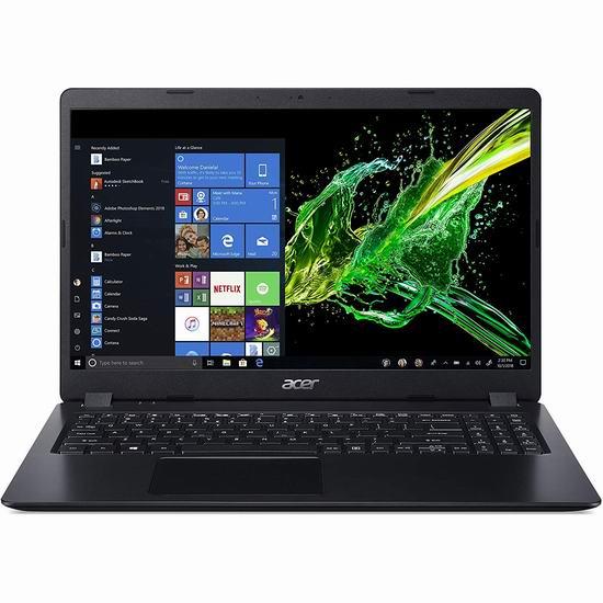 金盒头条:历史新低!Acer 宏碁 Aspire 15.6英寸笔记本电脑(8GB, 128GB SSD) 499加元包邮!