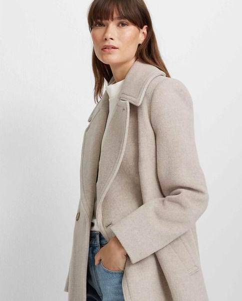 秋冬天穿得体面又保暖!Club Monaco 羊毛羊绒大衣、风衣、羊毛羊绒毛衣 7.4折起+额外4.2折,155加元入封面款!羊毛毛衣低至 33加元!