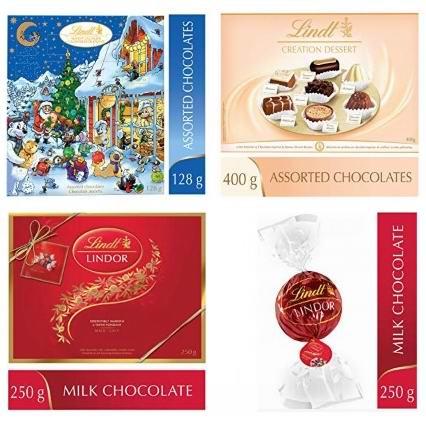 金盒头条:精选 Lindt 瑞士莲 巧克力6.1折起!低至8.62加元!