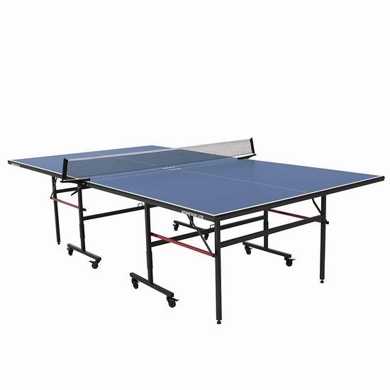 历史新低!Stiga Austin 娱乐级 家庭室内乒乓球桌 277.26加元包邮!