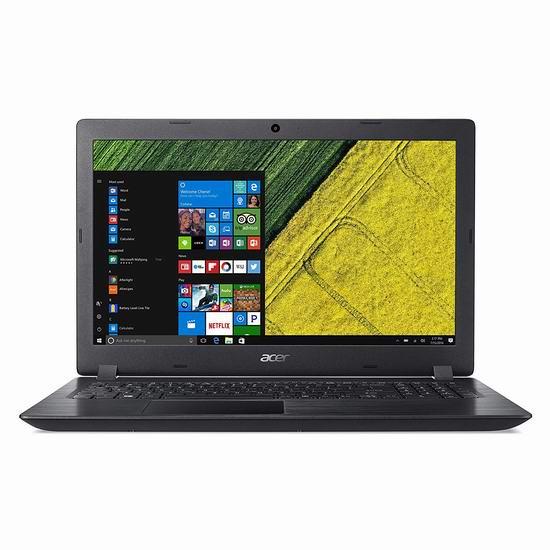 历史新低!Acer 宏碁 Aspire 3 15.6英寸笔记本电脑(8GB, 1TB) 389加元包邮!