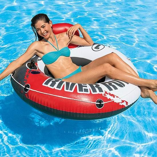 历史最低价!Intex Red River Run 1 充气式单人水上沙发 24.99加元!