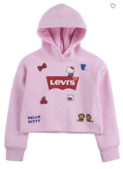 精选 Levis 李维斯卫衣,牛仔裤 6折起+额外8.5折,Levis X Hello Kitty 合作款也打折!