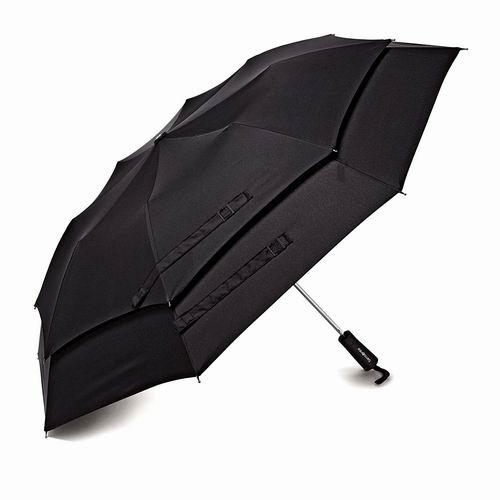 精选2款 Samsonite 新秀丽 Windguard 双层防风自动雨伞 21加元,原价 29.99加元
