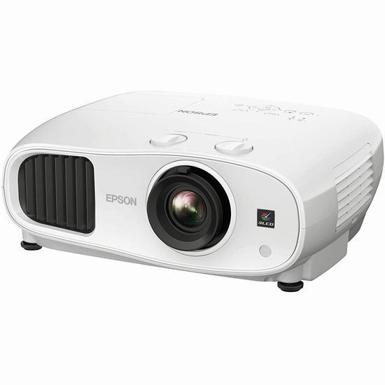 抢!历史新低!Epson 爱普生 Home Cinema 3100 3LCD 1080P全高清 家庭影院投影仪5折 799.99加元限量特卖并包邮!