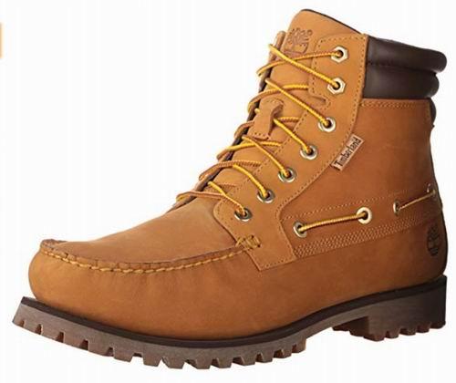 Timberland  7 Eye Moctoe男士黄靴 96.96加元(8码以上),原价 150加元,包邮