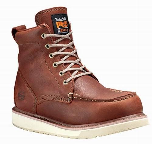 Timberland PRO 53009 男士6眼短靴 6.7折 109.23加元,原价 162.5加元,包邮