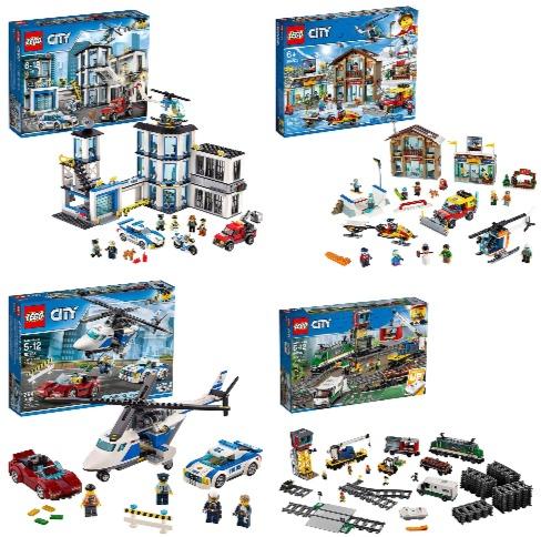 LEGO乐高 City城市系列 益智积木拼图玩具 6.5折 17.98加元起