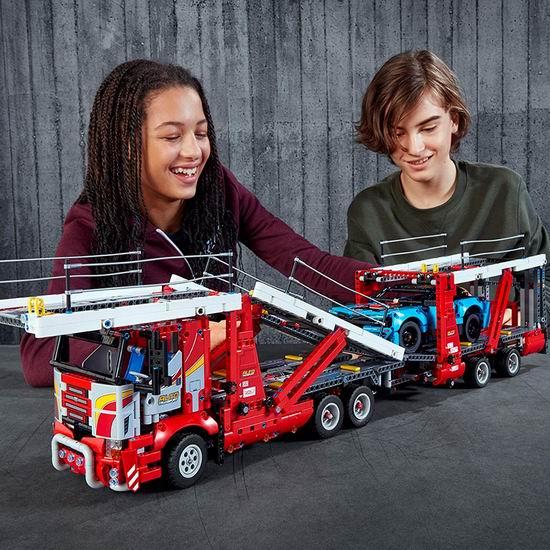 历史新低!新品 LEGO 乐高 42098 机械组 汽车运输车(2493pcs)7.4折 171.22加元包邮!