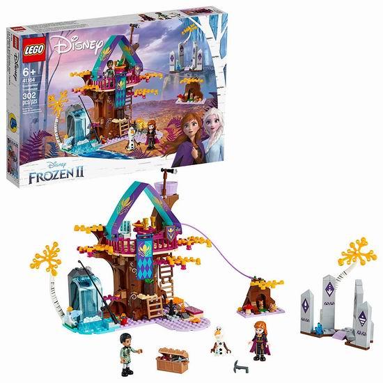 历史新低!新品 LEGO 乐高 41164 冰雪奇缘2 魔法树屋(302pcs)8折 55.97加元包邮!