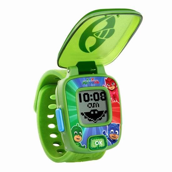 白菜价!历史新低!VTech 伟易达 PJ Masks 儿童多功能玩具手表3折 5.96加元清仓!