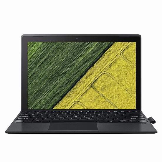 历史新低!Acer 宏碁 Switch 3 12.2英寸二合一 平板笔电 变形本(4GB, 64GB)5.6折 309.99加元包邮!