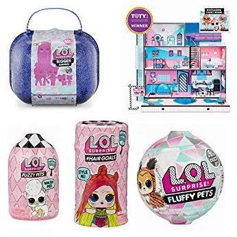 金盒头条:精选多款 L.O.L. Surprise! 惊喜娃娃球及相关玩具3折起!
