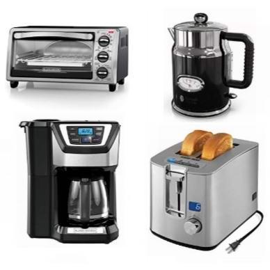 金盒头条:好价速抢!精选多款电热水壶、烤面包机、咖啡机、电饭煲、搅拌器、烧烤机、磨豆机等5.3折起!低至13.5加元!