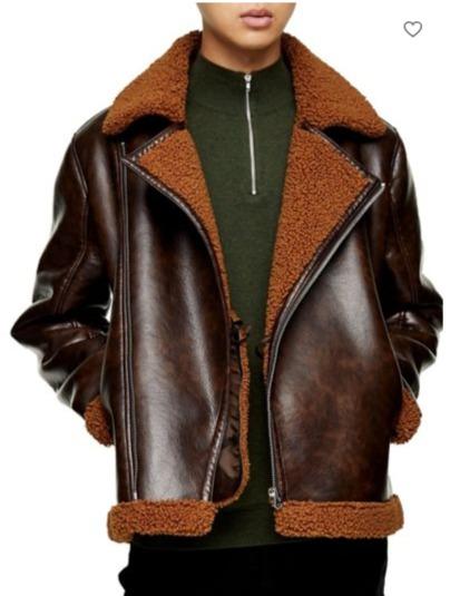 精选Topman冬季防寒服、毛衣、外套 3.4折 23.4加元起!封面款机车夹克119.4加元