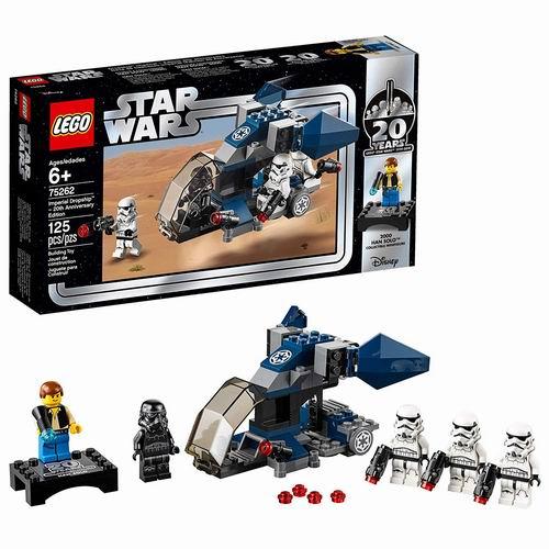 LEGO 乐高 75262 星球大战20周年纪念套装:风暴兵突击队 19.97加元,原价 24.99加元