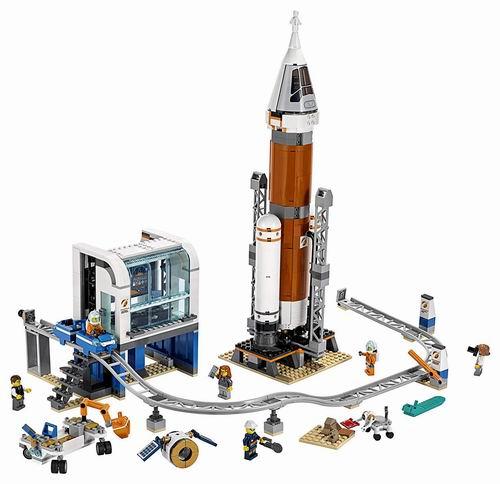 LEGO 乐高 60228 城市系列 深空火箭发射控制中心 109.99加元,原价 139.99加元,包邮