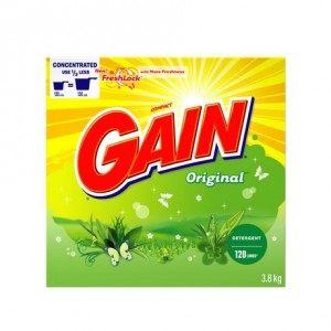 Gain Powder - Regular, 120 uses 3.8KG原味洗衣粉